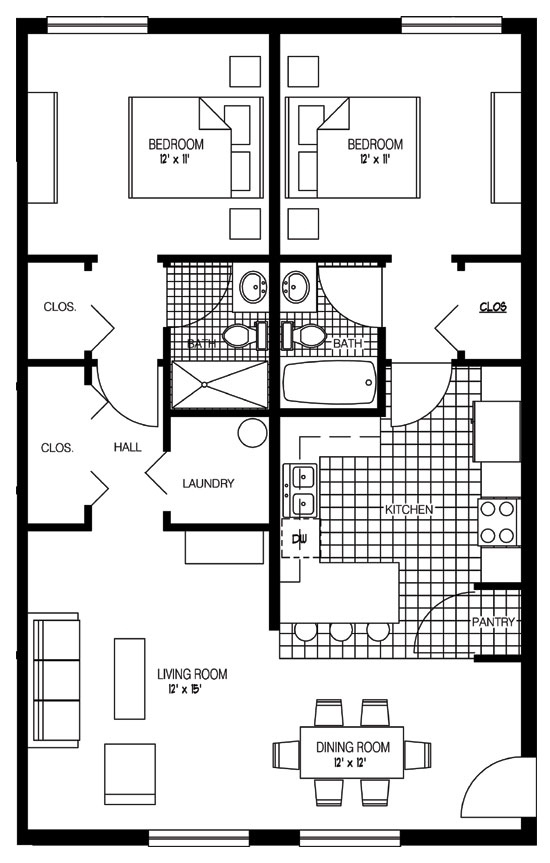 Floor Plans Melbourne Village Worthington Ohio